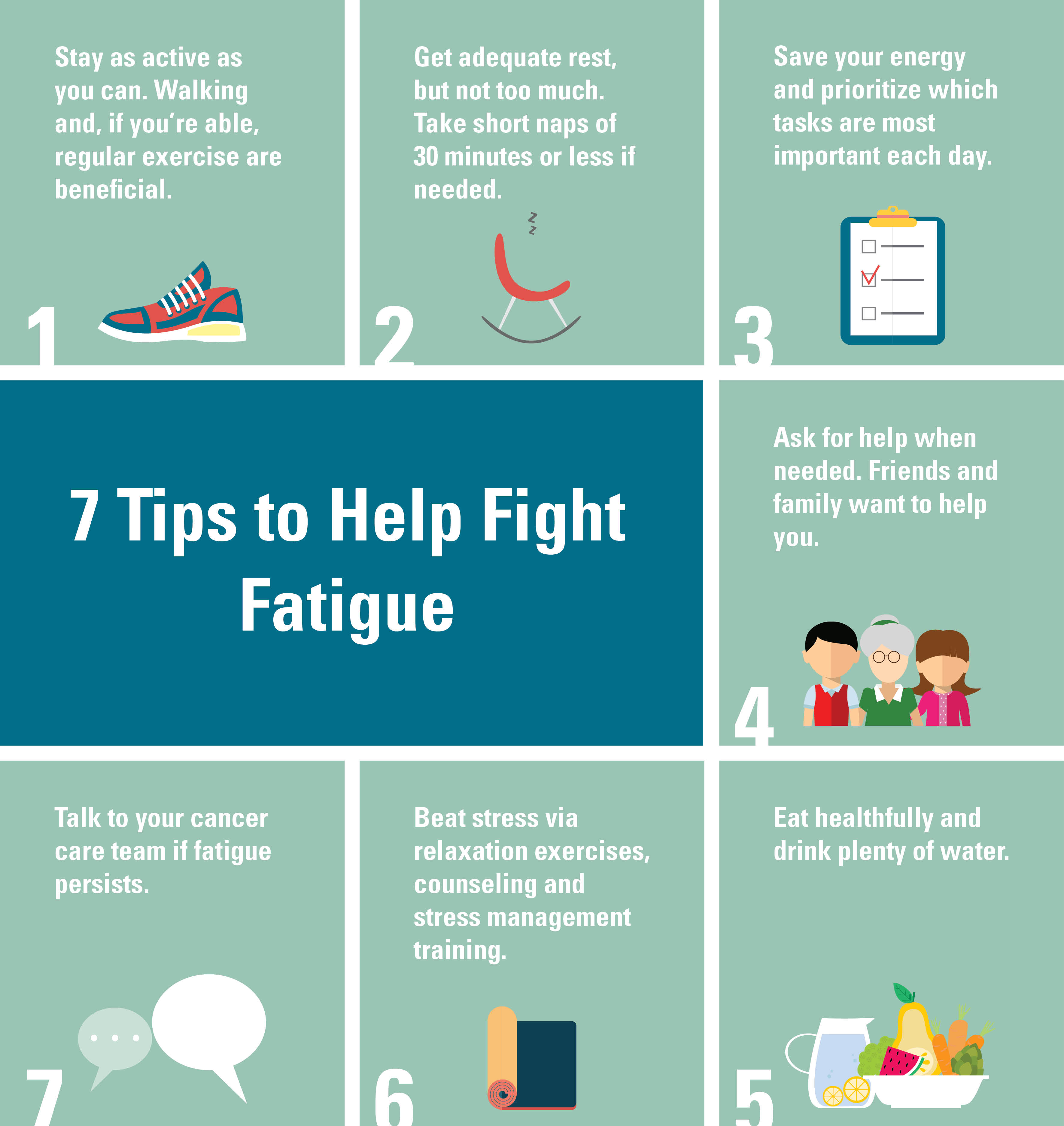 7 Ways To Fight Cancer Fatigue
