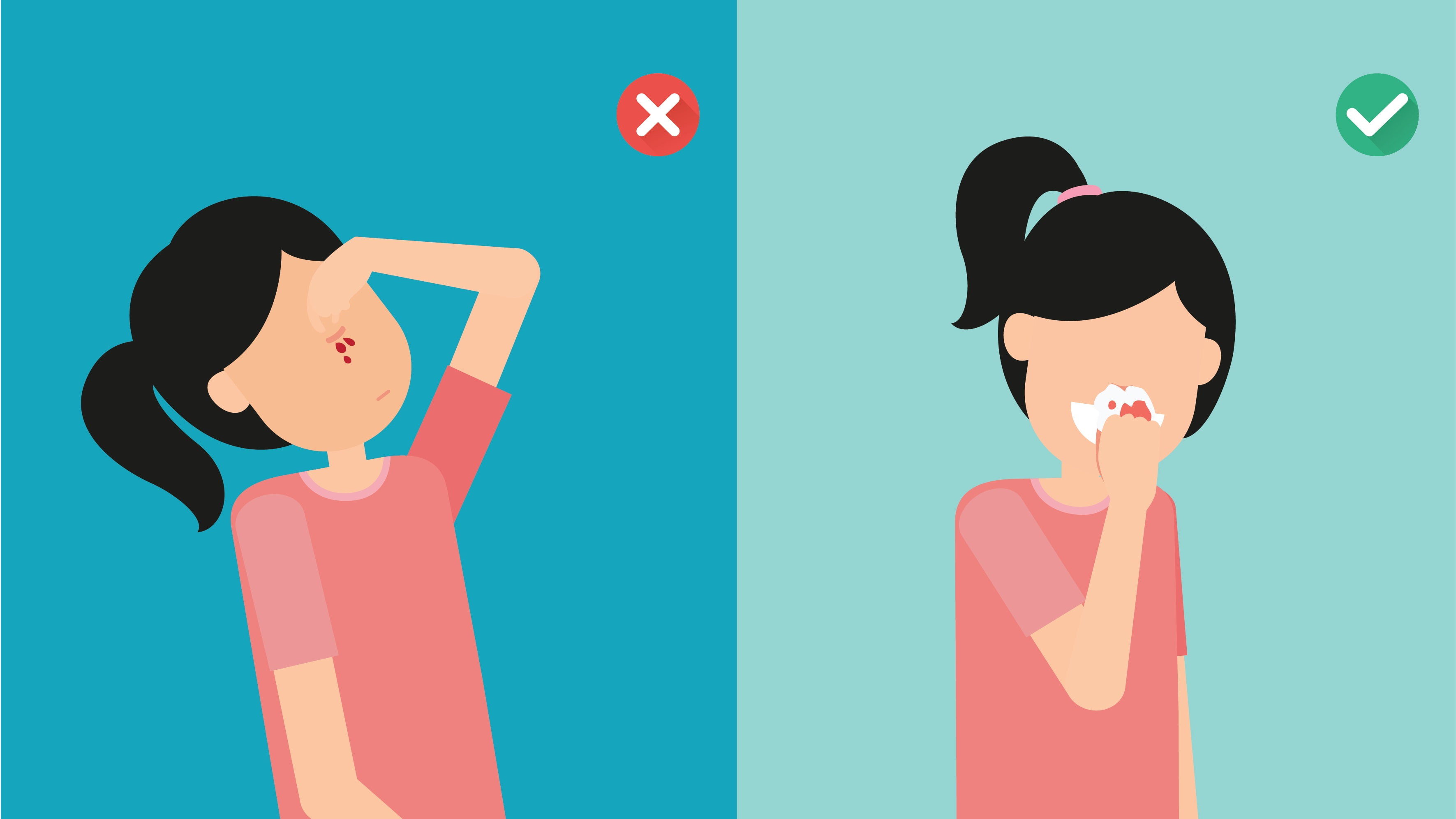 How to stop a toddler nose bleed