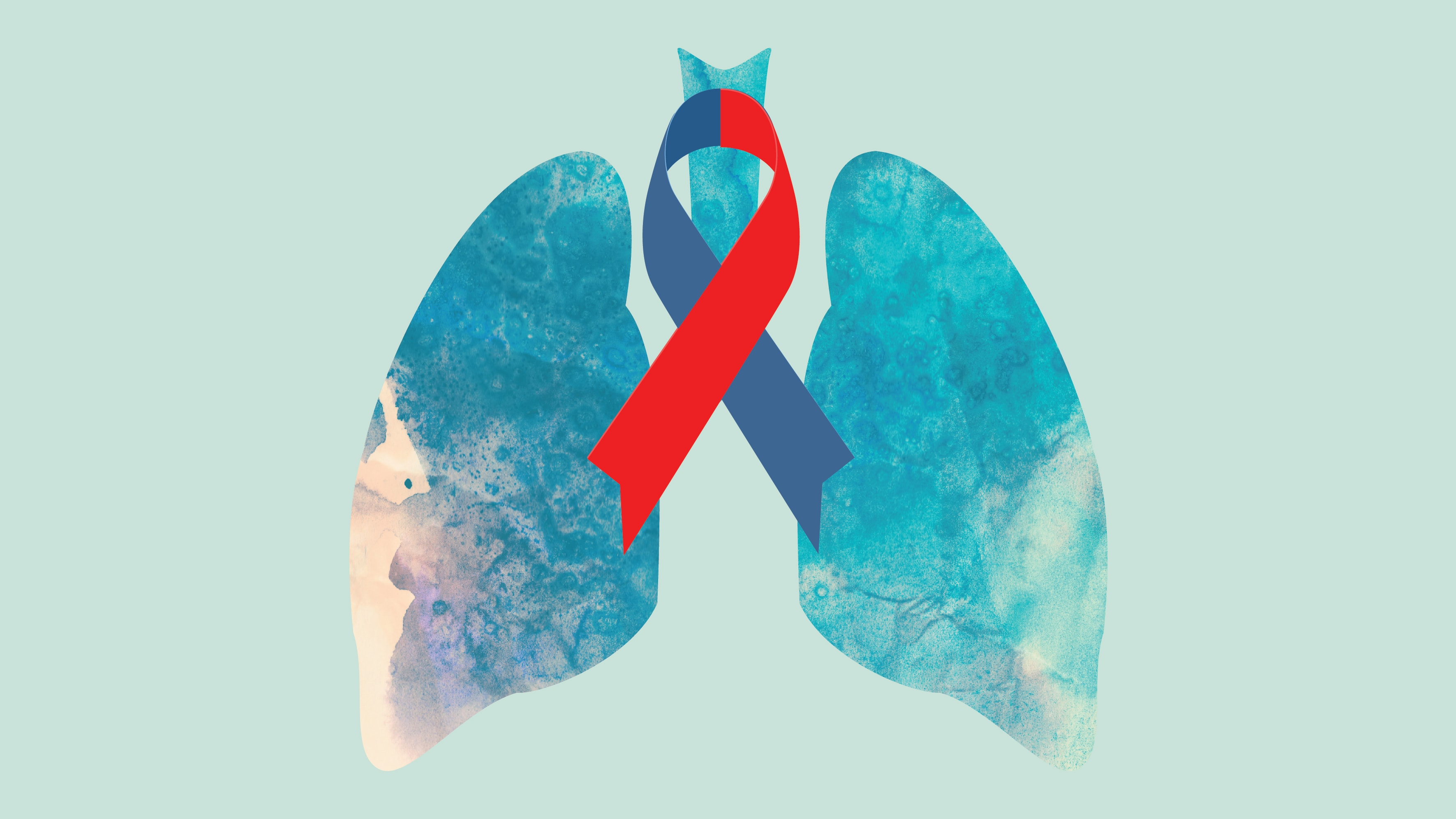 Global pulmonary fibrosis awareness month lung graphic