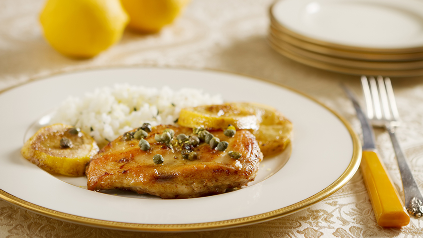 Low FODMAP Chicken Piccata