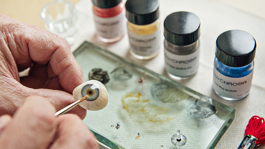 Prosthetic Eye Craftsmanship