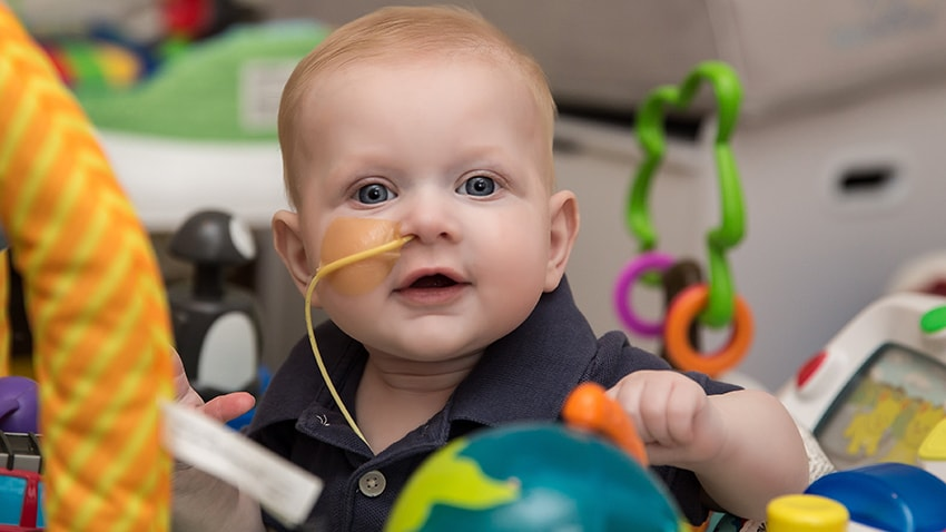 Bone Marrow Drive For Baby With Rare Nemo Syndrome