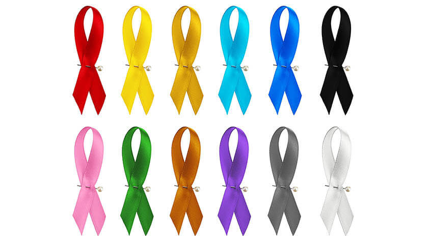 Cancer ribbons