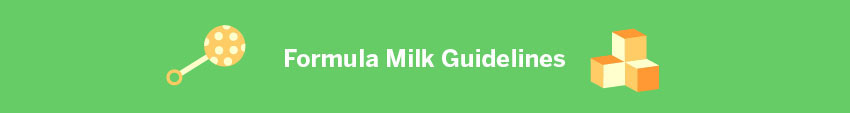 Formula Milk Guidelines